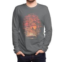 Burning in the Skies - mens-long-sleeve-tee - small view