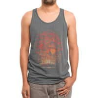 Burning in the Skies - mens-triblend-tank - small view