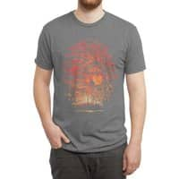 Burning in the Skies - mens-triblend-tee - small view