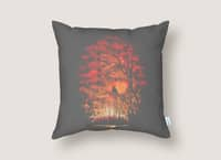 Burning in the Skies - throw-pillow - small view
