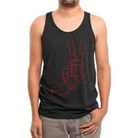 Peace Bang - mens-triblend-tank - small view