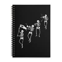 Bag o' Bones Boogie - spiral-notebook - small view