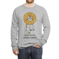Everything is Rawrsome - crew-sweatshirt - small view