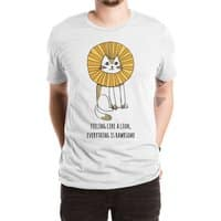 Everything is Rawrsome - mens-extra-soft-tee - small view