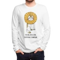 Everything is Rawrsome - mens-long-sleeve-tee - small view