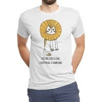 Everything is Rawrsome - mens-triblend-tee - small view