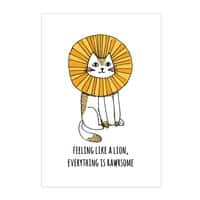 Everything is Rawrsome - vertical-print - small view