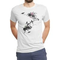 Frida's Garden - mens-triblend-tee - small view
