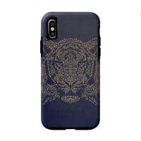 Ornamental Tiger - double-duty-phone-case - small view