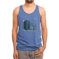 Come Away with Me - mens-triblend-tank - small view