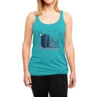 Come Away with Me - womens-triblend-racerback-tank - small view