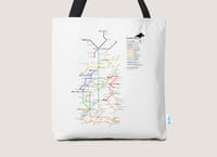 The Bus is Coming. - tote-bag - small view