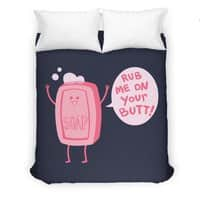 Lil' Soap - duvet-cover - small view