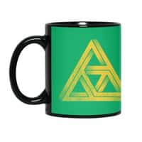 Penrose Triforce - black-mug - small view