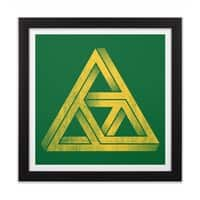 Penrose Triforce - black-square-framed-print - small view