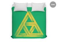 Penrose Triforce - duvet-cover - small view