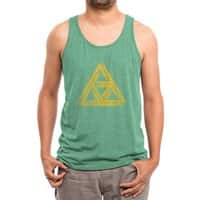 Penrose Triforce - mens-triblend-tank - small view