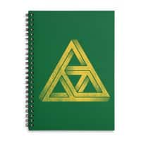 Penrose Triforce - spiral-notebook - small view