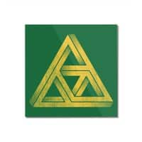 Penrose Triforce - square-mounted-acrylic-print - small view