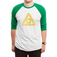 Penrose Triforce - triblend-34-sleeve-raglan-tee - small view