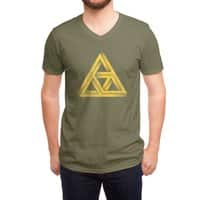 Penrose Triforce - vneck - small view