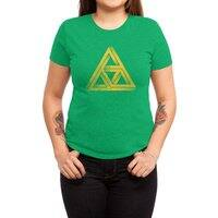 Penrose Triforce - womens-triblend-tee - small view
