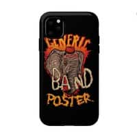 Generic Crazy Band Shirt - double-duty-phone-case - small view