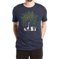 Meanwhile In The Woods - mens-extra-soft-tee - small view
