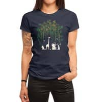Meanwhile In The Woods - womens-regular-tee - small view