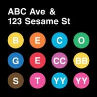 On ABC Av. & Sesame St. - small view