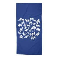 Alphabet Zoo - beach-towel - small view