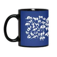 Alphabet Zoo - black-mug - small view