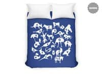 Alphabet Zoo - duvet-cover - small view