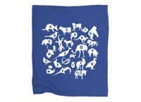 Alphabet Zoo - blanket - small view