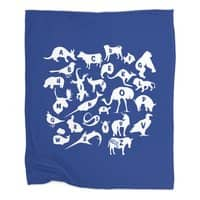Alphabet Zoo - blanket - small view