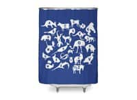 Alphabet Zoo - shower-curtain - small view