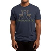 Cross Threaded - mens-triblend-tee - small view