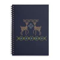 Cross Threaded - spiral-notebook - small view