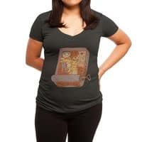 Monster Mash - womens-deep-v-neck - small view