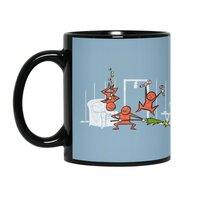 Santa's Silent Helpers - black-mug - small view