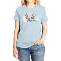 Santa's Silent Helpers - womens-extra-soft-tee - small view