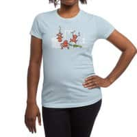 Santa's Silent Helpers - womens-regular-tee - small view