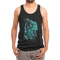 Epic Space Melee - mens-triblend-tank - small view