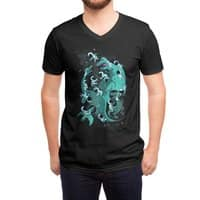 Epic Space Melee - vneck - small view
