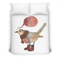 Joy To The World - duvet-cover - small view