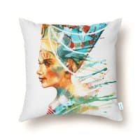 Nefertiti - throw-pillow - small view