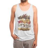 A King in Every Corner - mens-triblend-tank - small view