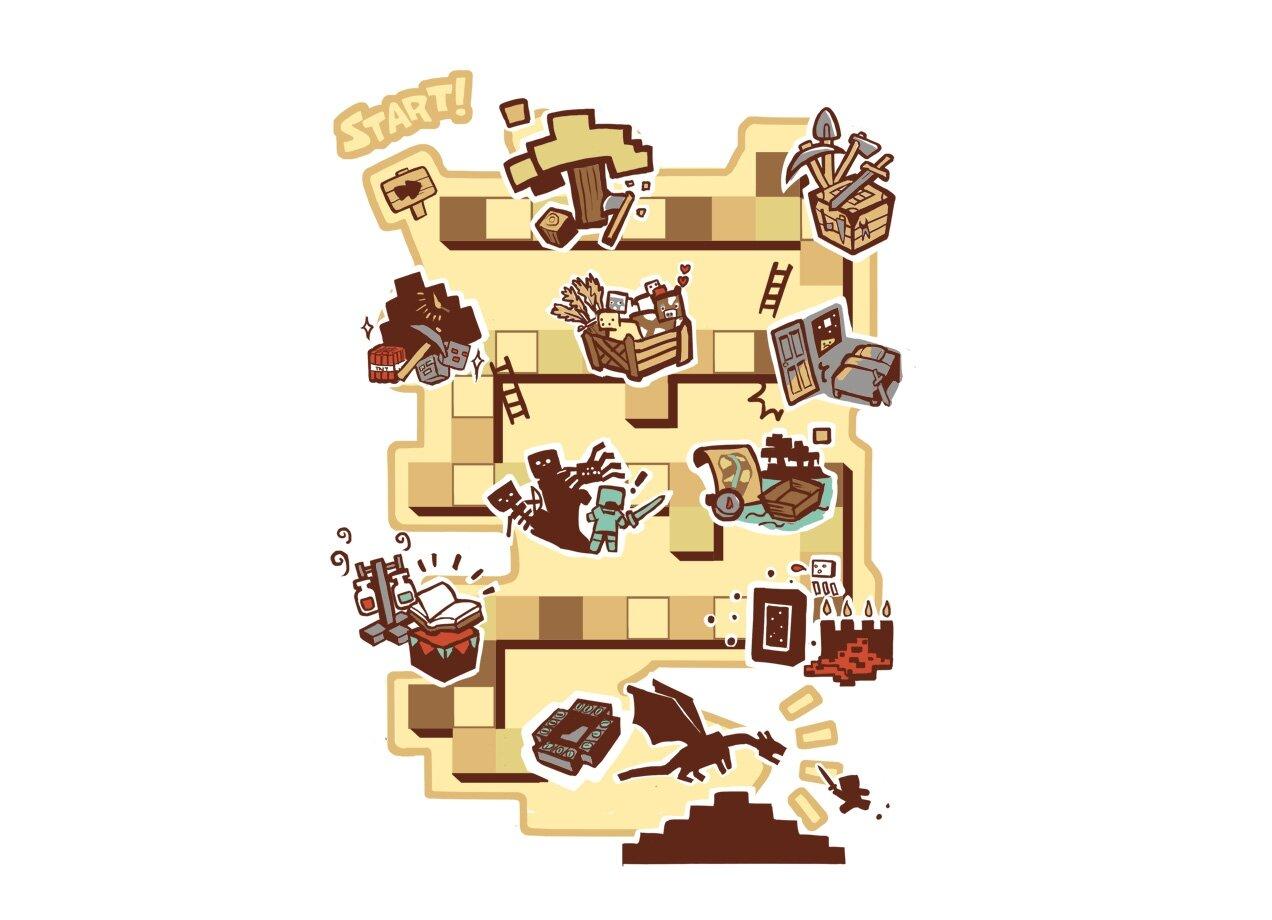 interesting minecraft board game - photo #25