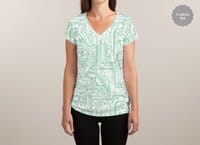 Energy - womens-sublimated-v-neck - small view
