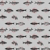 Fishes In Geometrics - small view
